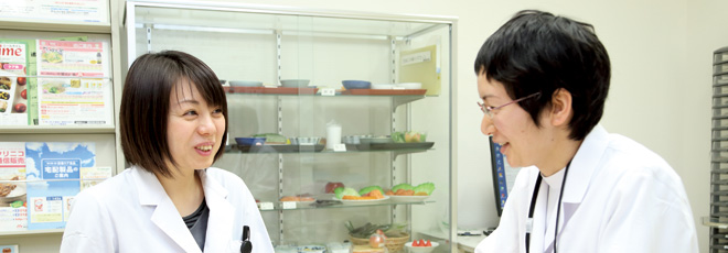 栄養管理部 インタビュー