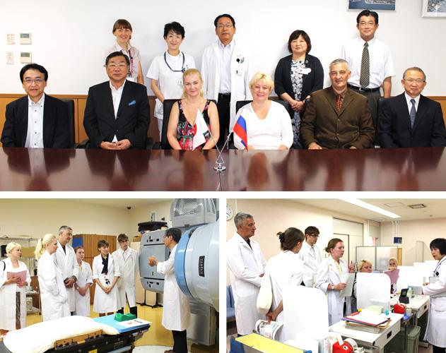 ロシア極東連邦大学医療センターからの視察を受け入れました。