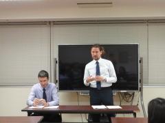 第15期英会話教室開講式1