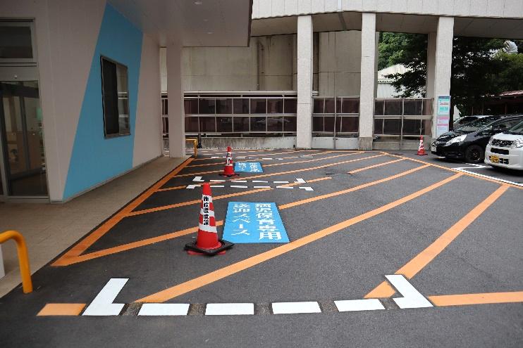 病児保育室送迎スペース1