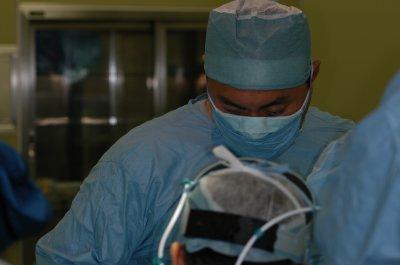 手術中風景