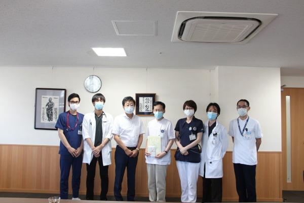 病院長表彰 感染制御部・PCR検査②