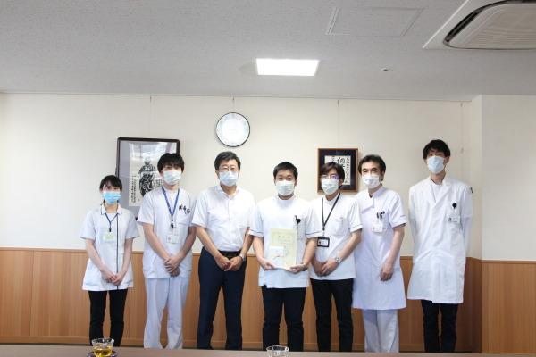 病院長表彰 感染制御部・PCR検査④