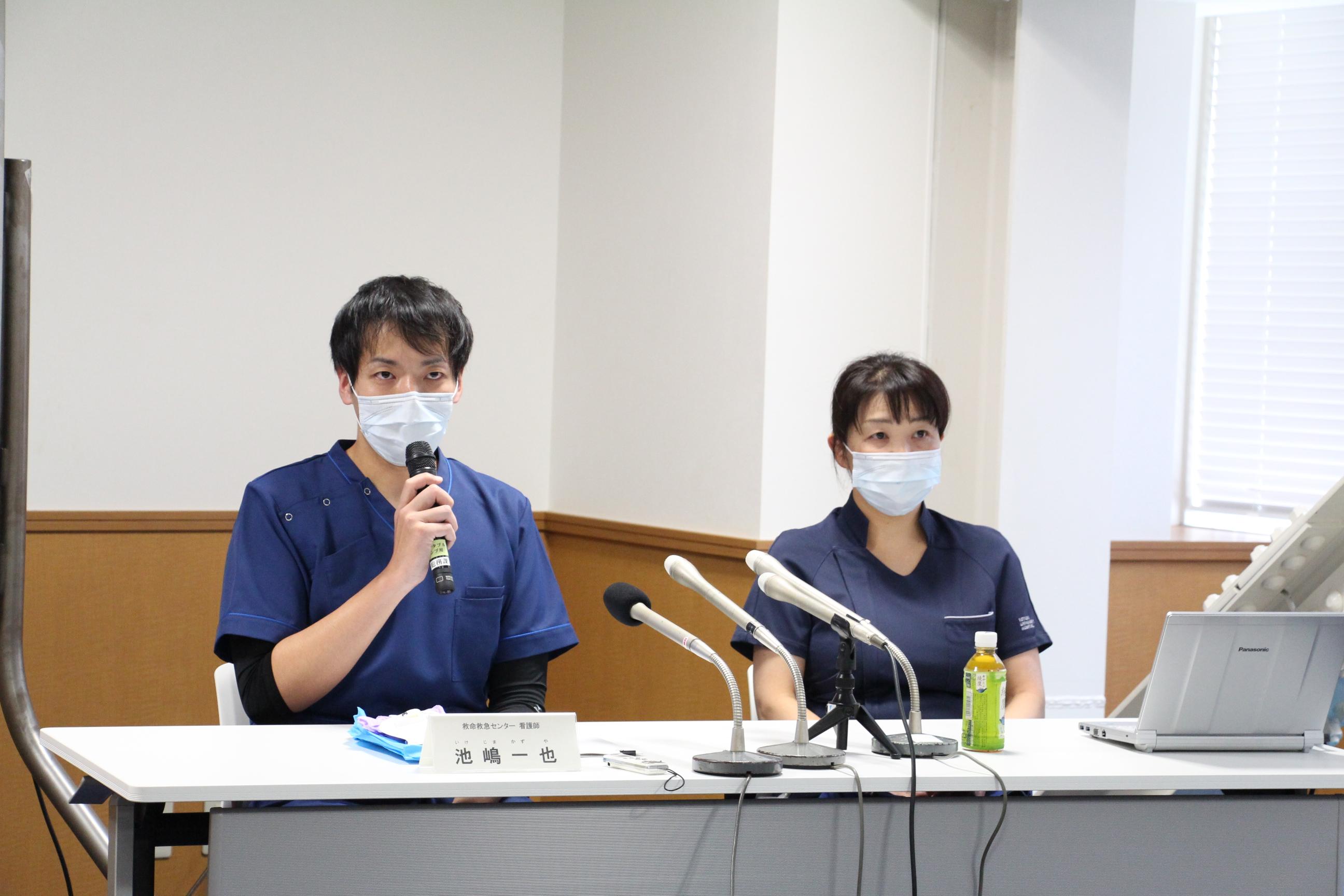 池嶋看護師報告会②