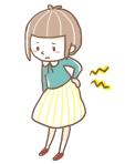 子宮内膜症 イラスト(2)
