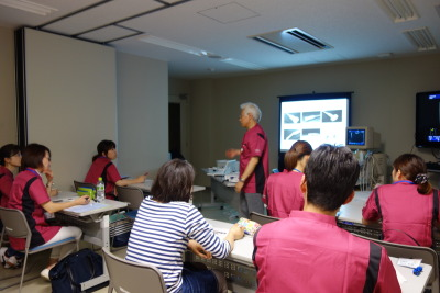 廣岡先生からまず講義を聴きました