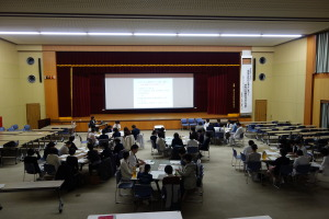 12.11 看護管理者 講義の様子
